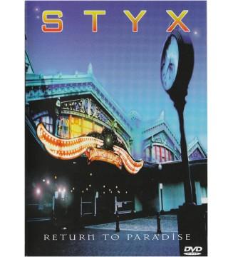 Styx - Return To Paradise (DVD-V, RM, Multichannel, Dol) mesvinyles.fr