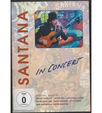 Santana - In Concert (DVD, Multichannel, PAL, Bon) mesvinyles.fr