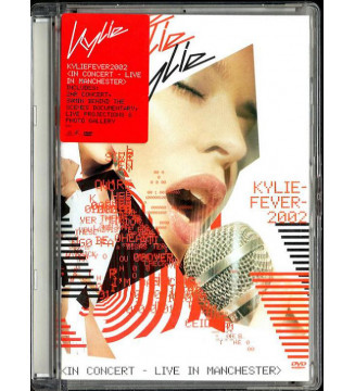 Kylie* - KylieFever2002 (In Concert - Live In Manchester) (DVD-V, PAL, Sup) mesvinyles.fr