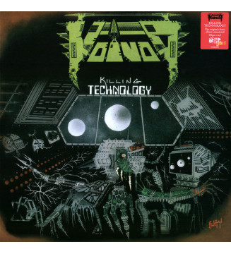 Voïvod - Killing Technology (LP, Album, RM) mesvinyles.fr