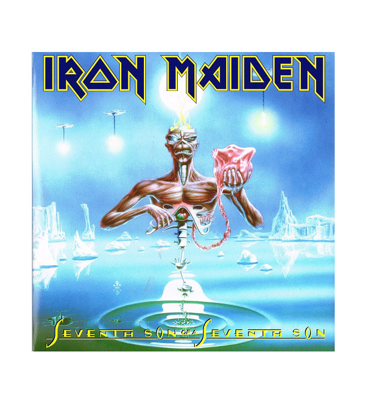 Iron Maiden - Seventh Son Of A Seventh Son (LP, Album, RE, RM, 180) mesvinyles.fr