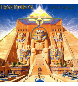 Iron Maiden - Powerslave (LP, Album, RE, RM, 180) mesvinyles.fr