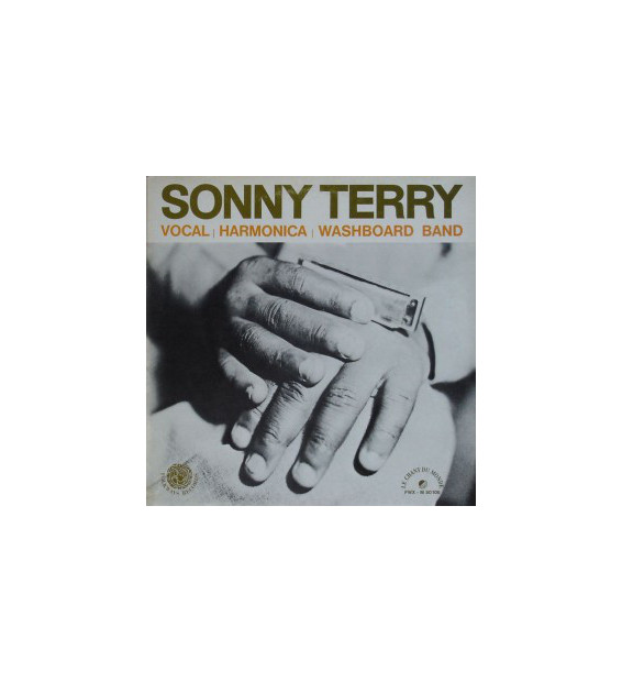 Sonny Terry - Vocal, Harmonica And Washboard Band (LP, Album, Tri) mesvinyles.fr