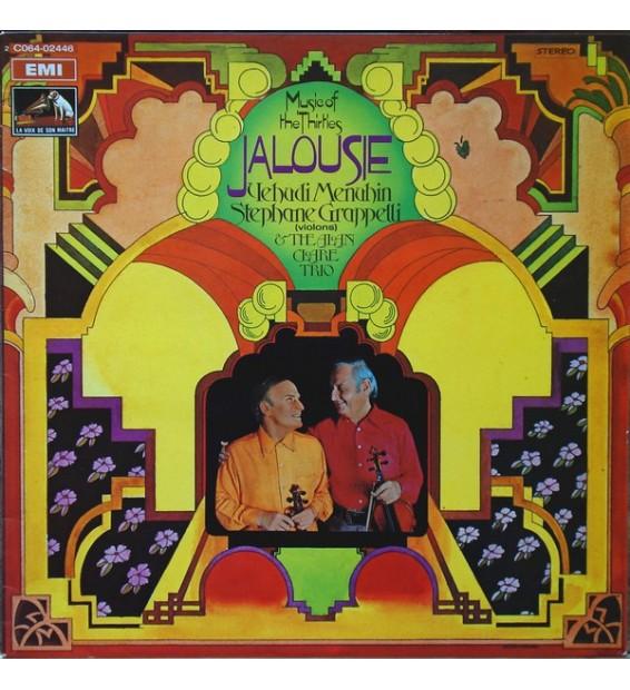 Yehudi Menuhin, Stephane Grappelli* & The Alan Clare Trio - Jalousie - Music Of The Thirties (LP, Album, RE) mesvinyles.fr