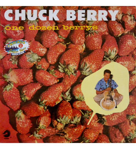 Chuck Berry - One Dozen Berrys (LP, Album, RE) mesvinyles.fr