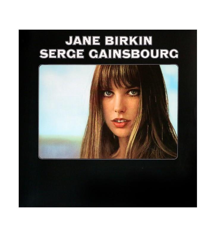 Serge Gainsbourg & Jane Birkin - Jane Birkin - Serge Gainsbourg (LP, Album) mesvinyles.fr