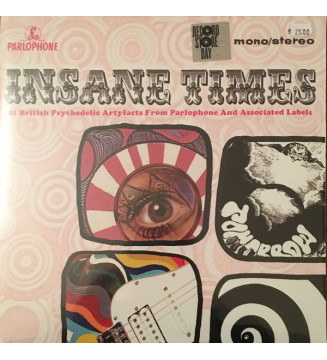 Various - Insane Times • 25 British Psychedelic Artyfacts From The EMI Vaults (2xLP, Comp, Mono) Disquaire Day (RSD) mesvinyles.