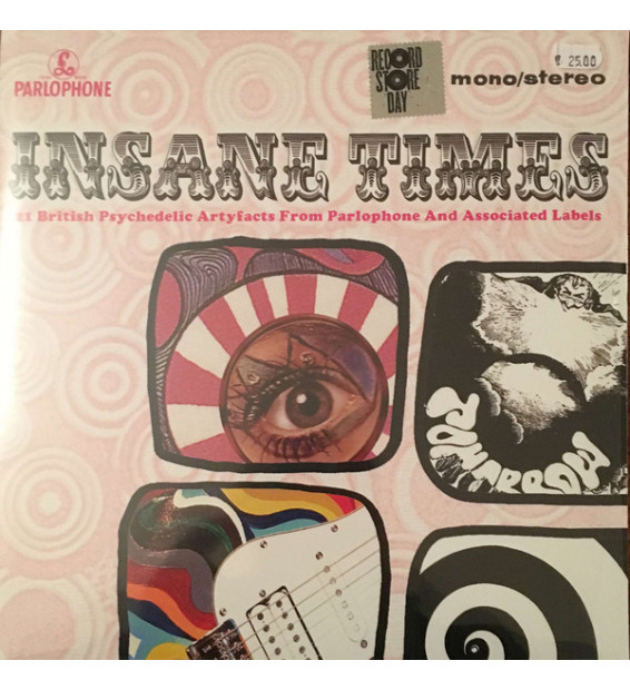 Various - Insane Times • 25 British Psychedelic Artyfacts From The EMI Vaults (2xLP, Comp, Mono) mesvinyles.fr