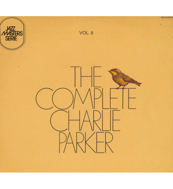 "Charlie Parker - The Complete Charlie Parker Vol. 8 ""A Night In Tunisia"" (LP, Comp)"