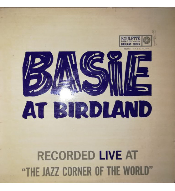 Count Basie - Basie At Birdland (LP, Album, Mono)