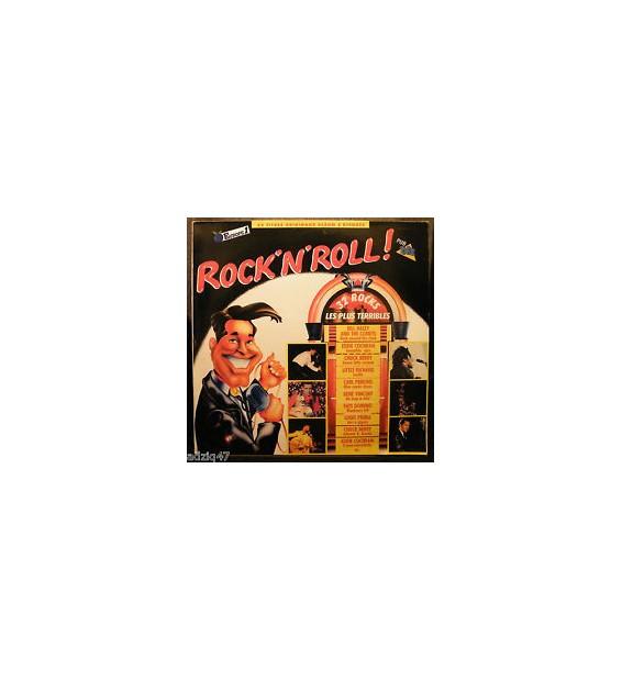 Various - Rock'n'Roll! - 32 Rocks Les Plus Terribles (2xLP, Comp, RE)