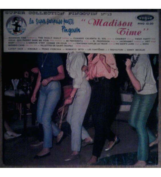 Various - Madison Time - La Super Surprise-Partie Pingouin No 12 (LP, Album, Comp, Mono) mesvinyles.fr