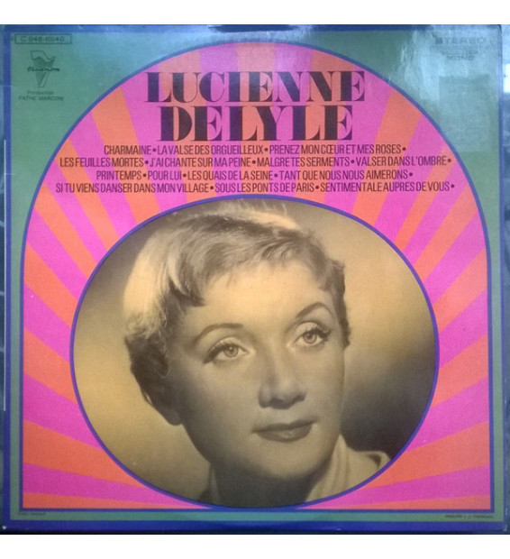 Lucienne Delyle - Lucienne Delyle (LP, Comp)