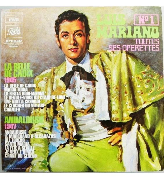 Luis Mariano - Toutes Ses Operettes N°1 (LP, Comp)