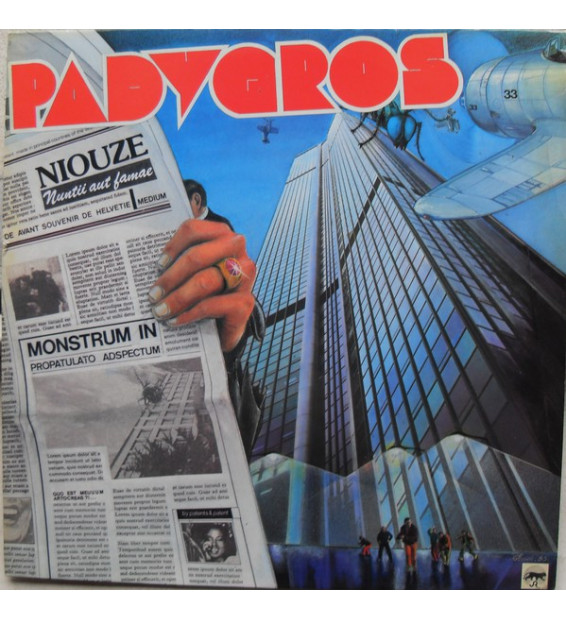 Aristide Padygros - Niouze (LP, Album) mesvinyles.fr