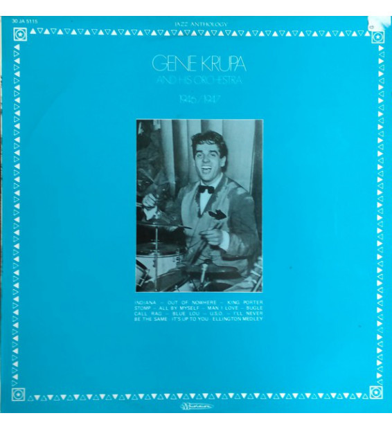 Gene Krupa And His Orchestra - 1946 / 1947 (LP) mesvinyles.fr