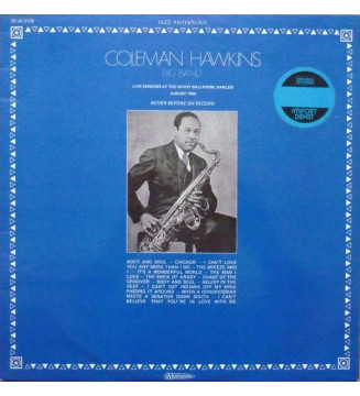 Coleman Hawkins Big Band - Live Sessions At The Savoy Ballroom, Harlem (LP, Album) mesvinyles.fr