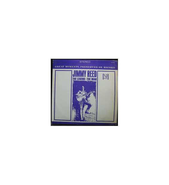 Jimmy Reed - The Legend - The Man (LP, Comp, RE) mesvinyles.fr