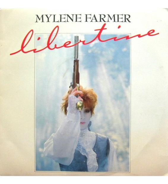 "Mylene Farmer* - Libertine (7"", Single, RE) mesvinyles.fr"