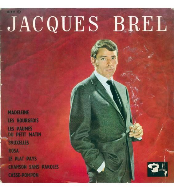 "Jacques Brel - Jacques Brel (10"", Album, Mono) mesvinyles.fr"