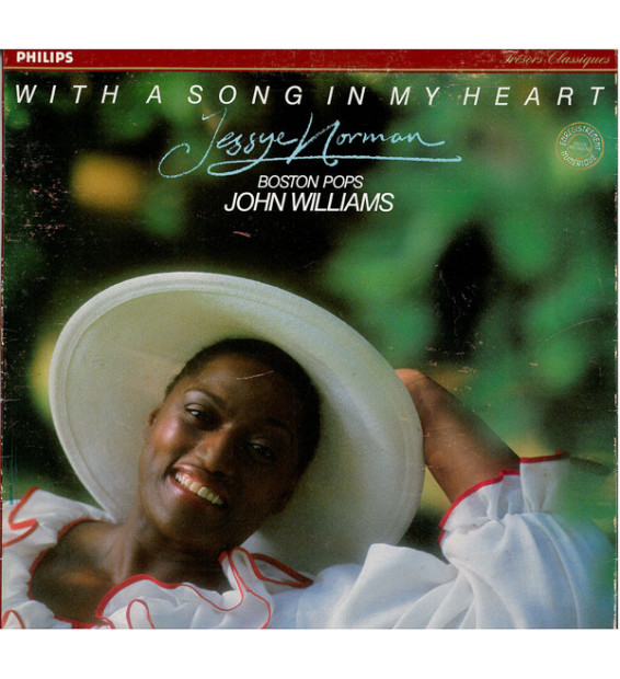 Jessye Norman - With A Song In My Heart (LP) mesvinyles.fr