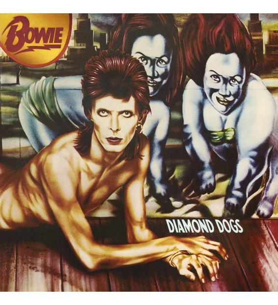 DAVID BOWIE DIAMOND DOGS Edition limitée vinyle rouge mesvinyles.fr