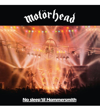 Motörhead - No Sleep 'til Hammersmith (LP, Album, RE, 180) mesvinyles.fr
