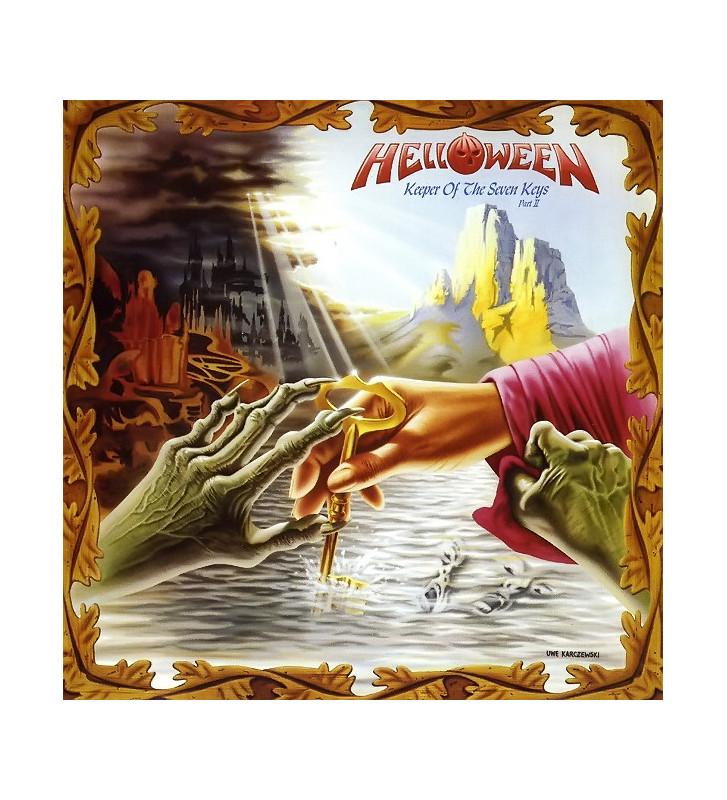 Helloween - Keeper Of The Seven Keys (Part II) (LP, Album, Gat) mesvinyles.fr