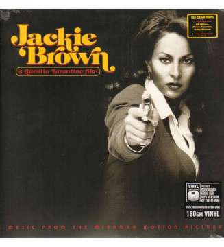 Various - Jackie Brown (Music From The Miramax Motion Picture) (LP, Comp, RE, 180) mesvinyles.fr