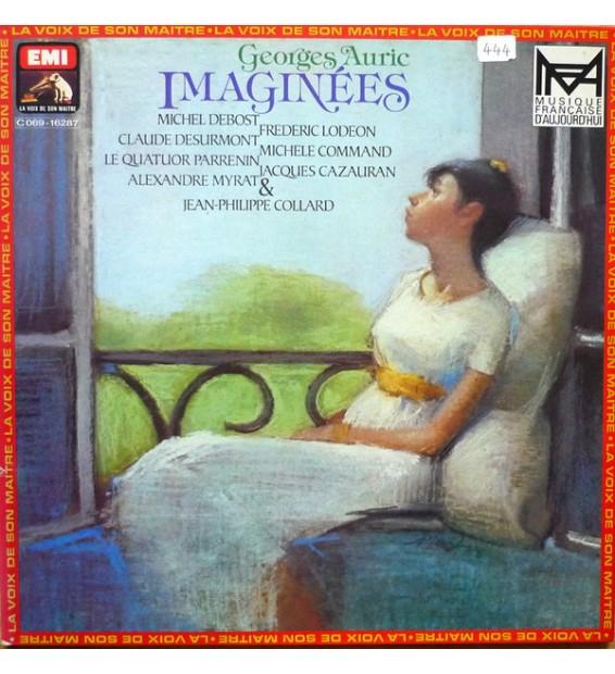 Georges Auric - Quatuor Parrenin - Imaginées (LP, Album, Quad, Gat) mesvinyles.fr