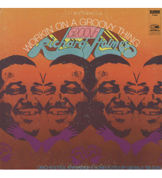 "Richard ""Groove"" Holmes - Workin' On A Groovy Thing (LP, Album, Gat) mesvinyles.fr"