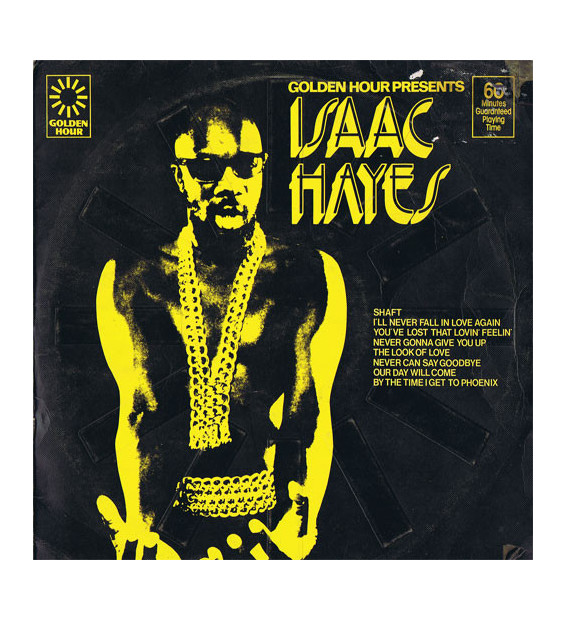 Isaac Hayes - Golden Hour Presents Isaac Hayes (LP, Comp)