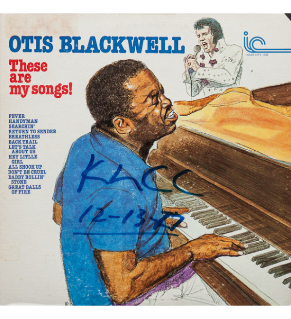 Otis Blackwell - These Are My Songs! (LP) mesvinyles.fr
