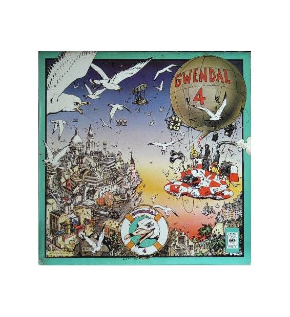 Gwendal - 4 (LP, Album) mesvinyles.fr