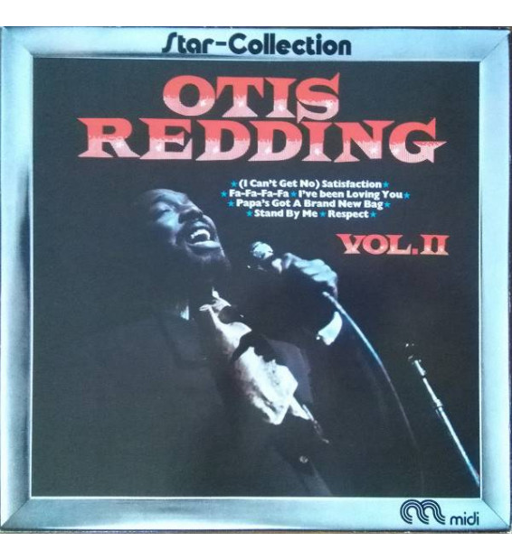 Otis Redding - Star-Collection Vol. I & II (2xLP, Comp) mesvinyles.fr