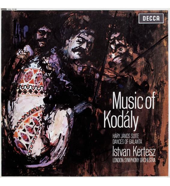 Kodály*, Istvan Kertesz*, London Symphony Orchestra* - Music Of Kodály (LP) mesvinyles.fr