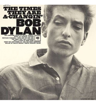 Bob Dylan - The Times They Are A-Changin' (LP, Album, Mono, RE, 180)