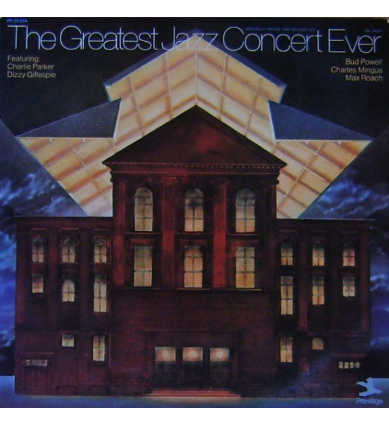 Charlie Parker, Dizzy Gillespie, Bud Powell, Charles Mingus, Max Roach - The Greatest Jazz Concert Ever (2xLP, Comp, RM) mesviny