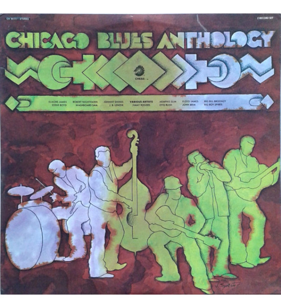 Various - Chicago Blues Anthology (2xLP, Comp, Gat) mesvinyles.fr