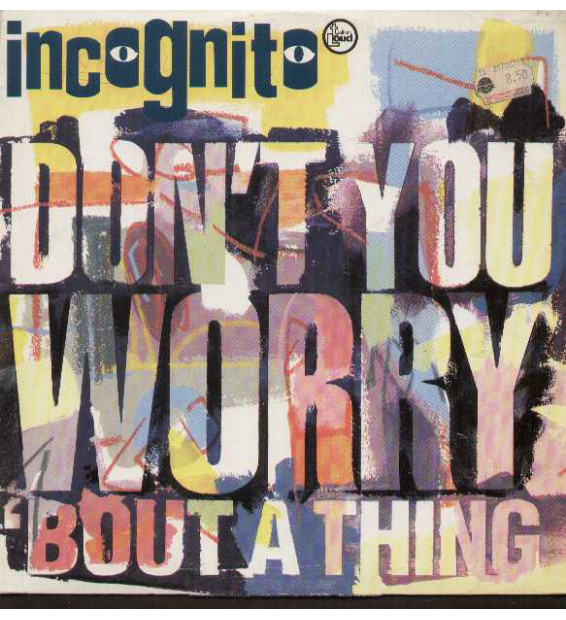 """Incognito - Don't You Worry 'Bout A Thing (12"""")"""