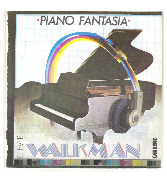 "Piano Fantasia - Walkman / Sidewalk (12"", Maxi)"