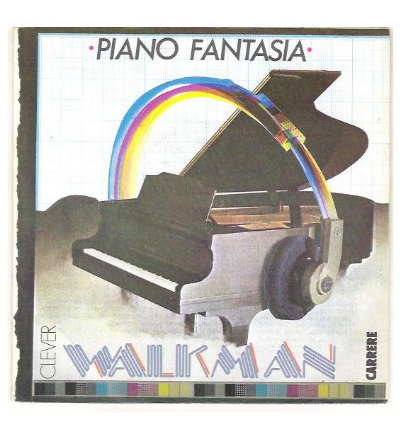 "Piano Fantasia - Walkman / Sidewalk (12"", Maxi) mesvinyles.fr"