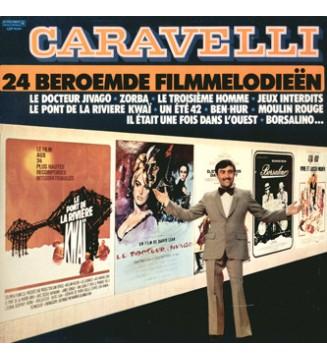Caravelli - 24 Beroemde Filmmelodieën (2xLP, Gat) mesvinyles.fr