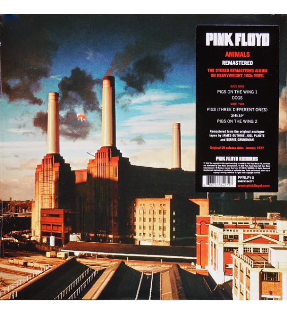 Pink Floyd - Animals (LP, Album, RE, RM, 180) mesvinyles.fr