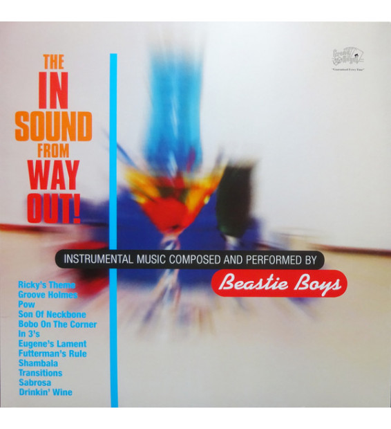 Beastie Boys - The In Sound From Way Out! (LP, Comp, RE, 180) mesvinyles.fr