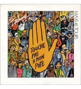 """Bashung* - Touche Pas À  Mon Pote (12"""", Maxi) mesvinyles.fr"""