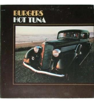Hot Tuna - Burgers (LP, Album, Ind) mesvinyles.fr