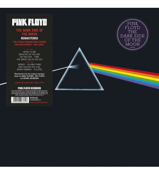 Pink Floyd - The Dark Side Of The Moon (LP, Album, RE, RM, Gat)