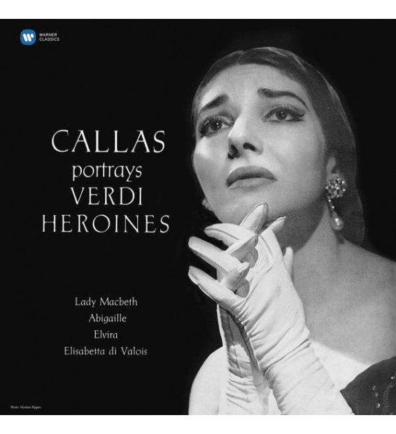 Maria Callas, Giuseppe Verdi - Callas Portrays Verdi Heroines (LP, Album, RE, RM, 180)