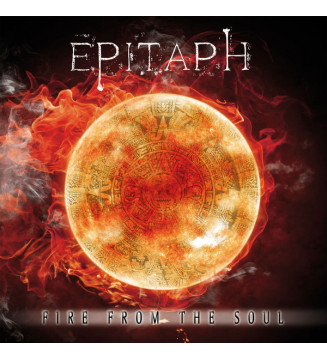 Epitaph (2) - Fire From The Soul (LP, Album, Ltd, Wit + CD) mesvinyles.fr